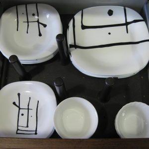 Cajon cerolero moderno para platos